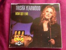 TRISHA YEARWOOD - HOW DO I LIVE - CD SINGLE