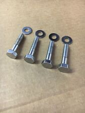 HONDA CL77, CL72 Handlebar Chrome Mounting Bolts and Washers