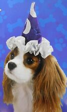 Pet Frenzy Halloween Dog Costume Wizard Hat Size Small 10-20 lbs #7047