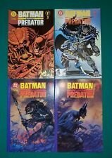 Batman Versus Predator 1-3 + Variant Complete Set Run! 1991 vs