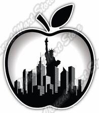 "Big Apple New York City Manhattan Liberty Car Bumper Vinyl Sticker Decal 4.6"""