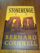 Stonehenge: A Novel of 2000 Bc by Bernard Cornwell (2000, Hardcover) 1st/1st #ta