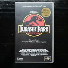JURASSIC PARK  - BY STEVEN SPIELBERG - VHS  (in GERMAN)