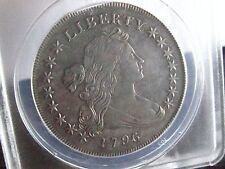 1796 Small Eagle Draped Bust  Dollar /  ANACS XF/ 45