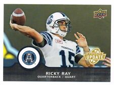 2016 UPPER DECK CFL VETERAN UPDATE #U8 Ricky Ray