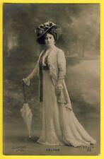 cpa PHOTO Paul BOYER PARIS 1900 Artiste Actrice Théatre Comédie Française FÉLYNE