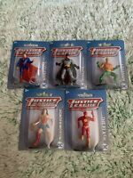 Justice League DC Comics LOT Superman.Aquaman,Batman, The Flash, & Wonder Woman