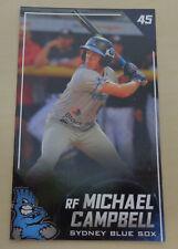 2019/20 Sydney Blue Sox (Australian Baseball League) MICHAEL CAMPBELL card