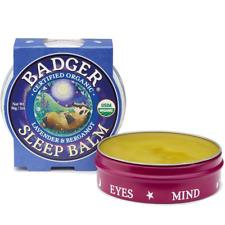 Badger Organic Sleep Balm 56g Soothes Calms & Uplifts Senses For Peaceful Sleep