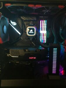 CUSTOM GAMING DESKTOP ASUS ROG STRIX WC CORSAIR RYZEN 7 32GB DDR 500GB SSD NOGPU