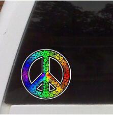 Rainbow Peace Symbol Car  Decal Laptop Sticker Truck  Decal Funny  Sticker