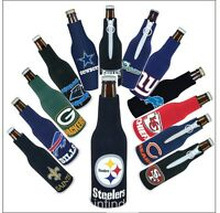 NFL Football Bottle Suit Koozie Drink Holder- Pick Team