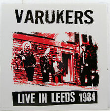 "VARUKERS-Live at Leeds 1984 radiation Records 12"" LP (b372)"