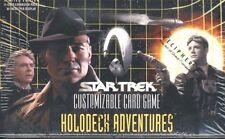 STAR TREK CCG : HOLODECK ADVENTURES BOOSTER BOX SEALED