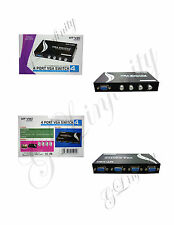 BRAND NEW 4 PORT VGA SWITCH MT-15-4CH (WIDE SCREEN)