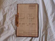 DDR RFT  Steremat MfS Stasi Uhr-T Schaltpläne