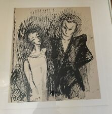 Edouard Goerg Original Drawing Signed Listed Guarenteed. Image 11 X 9 Inches