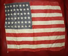 OLD UNITED STATES OF AMERICA 48 STAR FLAG - JACK FLAG? FROM  NEWFOUNDLAND