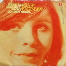 Vinyl-Single Gaby Baginsky - Häng die Gitarre nicht an den Nagel (1974) Stereo