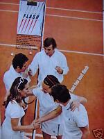 PUBLICITÉ 1967 CIGARETTES FLASH - TENNIS - TABAC