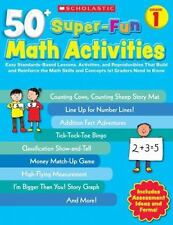 50+ Super-Fun Math Activities: Grade 1: Easy Standards-Based Lessons, Activities
