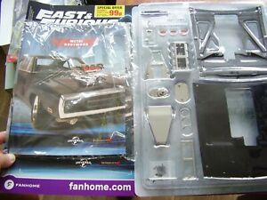 FAST AND FURIOUS - BUILD THE DODGE CHARGER R/T PARTWORK 1:8 SCALE = #1