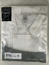 Chef Revival 247 Jacket With Buttons J100 Xl Size Xl