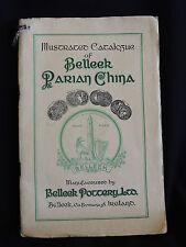 ILLUSTRATED CATALOGUE OF BELLEEK PARIAN CHINA-BELLEEK POTTERY.LTD 1949-inc