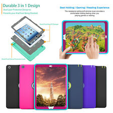 iPad 7th Generation Case iPad 10.2 Case 2019 Kids Silicone Shock Proof Case