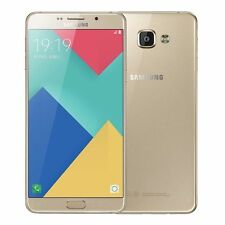 "Samsung Galaxy A9 Pro (2016) A9100 Dual Sim Gold 6"" S.AMOLED 16MP Phone By FedEx"