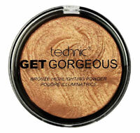 Technic Get Gorgeous 24CT Gold - Bronze Bronzing Highlighter Contouring Beauty