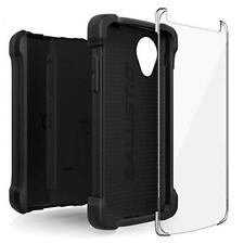 Negro TJ Carcasa Resistente Funda para LG Nexus 5 Chaqueta Maxx by Ballistic