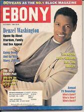 DENZEL WASHINGTON HANSOME YOUNG EBONY 1995 MARY J BLIDGE