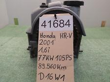 Zylinderkopf D16W1 Honda HR-V (GH) 1,6i 16V 4WD 77kW BJ.2001 89560km