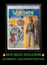 MOC BOBA FETT SDCC 2015 GENTLE GIANT STAR WARS Droids Cartoon JUMBO Kenner Coin