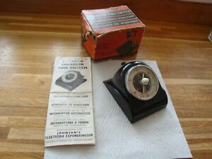 Johnson Enlarger Time Switch with Instructions and original box