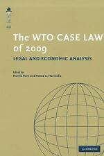 The Wto Case Law Of 2009: Legal And Economic Analysis (the American Law Insti...