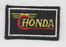 ECUSSON MOTO HONDA PATCH BRODERIE DECO COMBINAISON BADGE NEUF