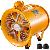 ATEX Rated Ventilator Explosion Proof Axial Fan 10 Inch 110V Portable