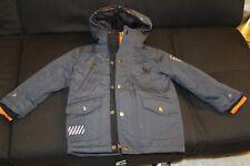 Diesel Puffer Coats 3 in 1 system Jacket Charcoal & Orange Hooded Jacke 2T Boys
