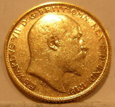 Australia 1903S Gold 1/2 Sovereign Circulated Edward VII