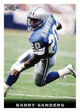 """BARRY SANDERS 2018 LEAF """"NATIONAL COLLECTORS CONVENTION"""" VIP ROOKIE CARD"""