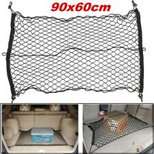 Car Trunk SUV Rear Cargo Organizer Storage Elastic Mesh Net Holder 4 Hooks Hot