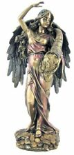 Greek Goddess Decorative Fortune/Tyche/Good Luck, Fortuna with Wing Bronze 29.5