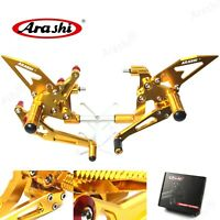 Fit Ducati 1299 Panigale / S 2015 - 2018 2016 Racing Rearsets Footrests Footpegs