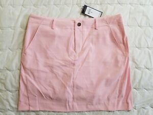 1 NWT RALPH LAUREN POLO GOLF WOMEN'S SKORT, SIZE: 8, COLOR: PINK (J78)