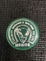Calgary Brewery Aquarium Token Brewing & Malting Co Ltd Green