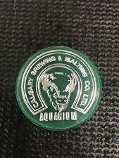 Calgary Brewery Aquarium Token Brewing & Malting Co Ltd Green
