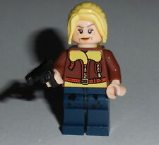 "T.V. #10-s3 Lego The Walking Dead ""Andrea "" NEW Genuine Lego Parts Season 3"