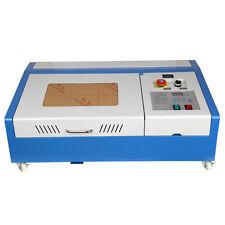 40W CO2 Laser Engraving Cutting Cutter Machine Engraver USB Port High Precise